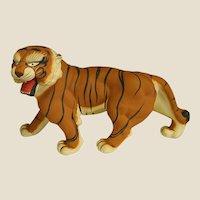 1950s Hakata Tiger Clay Figure