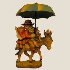 "ANRI ""Riding through the Rain"" 5"" Figure by Juan Ferrandiz"