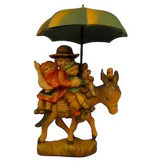 "ANRI ""Riding through the Rain"" 5"" Figure by Juan Ferrandiz"