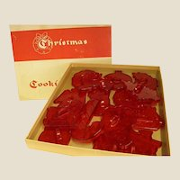1950s HRM Christmas Cookie Cutters by Education Products Company