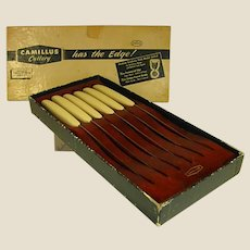 1950s Camillus Cutlery Co. Steak Knife Set