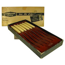 1950s Camillus Cutlery Co. Steak Knife Set