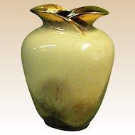 Beautiful 1950-60s Carstens Tonnieshof Pottery Vase No. 482-22