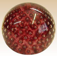 Glass Eye Studio Paperweight Signed and Dated