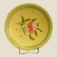 Lovely Early 20th Century German Majolica Plate