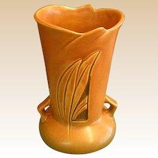 Lovely Roseville Silhouette Two-handled Vase