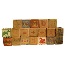 Darling Old Wooden Blocks