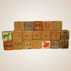 Darling Old Wooden Blocks
