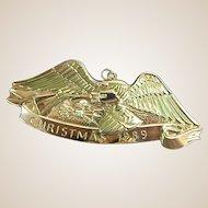 Vintage Gorham Sterling Eagle Ornament