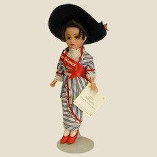 Madame Alexander Cissette Suffragette Doll of the Decades