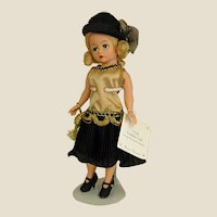 Madame Alexander Cissette 1920 Golden Girl Doll of the Decades