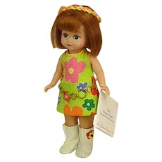 NRFB Madame Alexander Maggie Mix-up 1960s Flower Child Doll of the Decades
