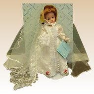 Beautiful Madame Alexander Empire Bride Cissette