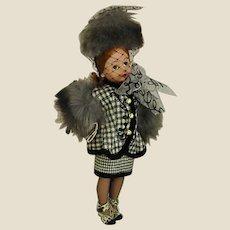 Chic 1998 75th Anniversary Madame Alexander Houndstooth Cissette