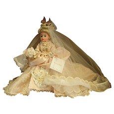 Beautiful Madame Alexander Rococo Bride Cissette