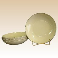 Classic Lenox China Weatherly Berry Bowls