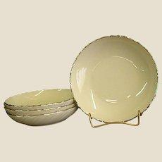 Classic Lenox China Weatherly Berry Bowls