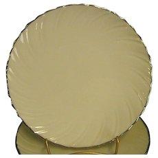 Classic Lenox China Weatherly Bread Plates