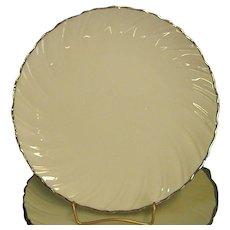 Classic Lenox China Weatherly Salad Plates