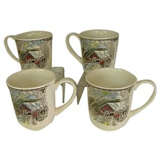 Johnson Brothers Friendly Village Set of 4 Mugs