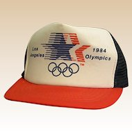 1984 Los Angeles Summer Olympics Hat/Cap