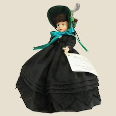 Gorgeous 1997 Gone with the Wind Madame Alexander Scarlett O'Hara in Mourning Dress