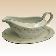 Johann Haviland Forever Spring Gravy Boat with Underplate