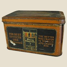 1920s American Crayon Co. Tin