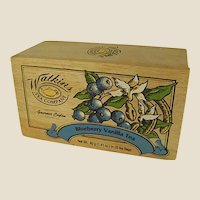 Colorful Wooden Box for Watkins Tea