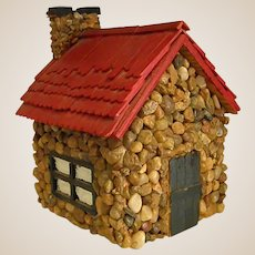 Sweet Homemade Rock Cottage