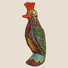 Charming Oaxacan Folk Art Bird