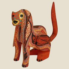 Charming Oaxacan Folk Art Dog by Pepe Santiago