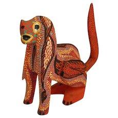 Charming Oaxacan Folk Art Dog by Pepe Santiago