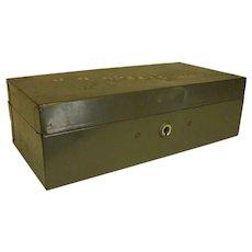 Old Metal ASCO Steelmaster Office Box