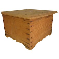 Rustic Handmade Wooden Collection Box