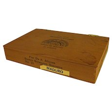 Vintage Wooden Dunhill Seleccion Suprema Cigar Box