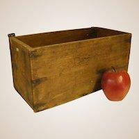 Rustic Old Handmade Box