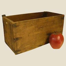 Rustic Old Handmade Box
