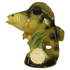 National Fresh Water Fishing Hall of Fame Jim Beam Decanter