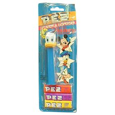 Donald Duck Pez Dispenser with Candy