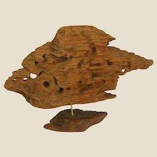Artsy Mounted Driftwood