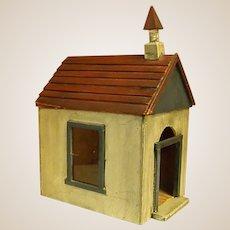 Sweet Handmade Wooden Schoolhouse or Church