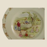 "Darling 1988 Royal Doulton Bunnykins 8"" Plate"