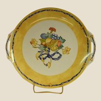 Highly Collectible Bernardaud Borghese Sandwich or Cake Plate