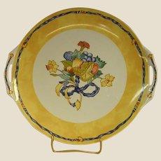 Highly Collectible Bernardaud Borghese Sandwich or Cake Plate