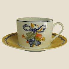 Highly Collectible Bernardaud Borghese Cups and Saucers