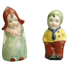 Dutch Boy and Girl Salt and Pepper Shakers