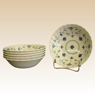 Graceful Churchill Finlandia Pattern Soup or Cereal Bowl