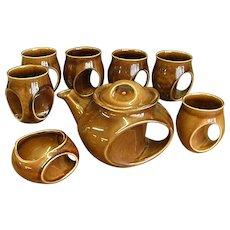 Rare 1950s Holkham Pottery Tea Set