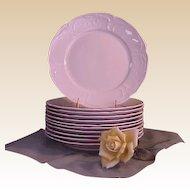 Vintage Rosenthal Sans Souci Ivory Color Dinner Plates